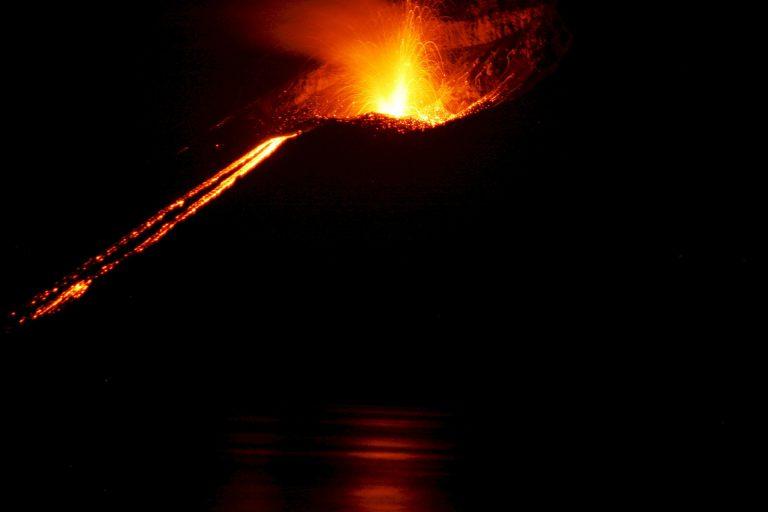 Buch Vulkanausbruch 1