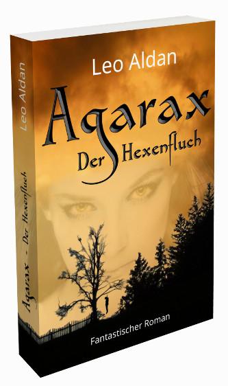 Agarax - Der Hexenfluch Buch Cover 3D