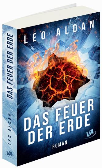 Buch Cover Das Feuer der Erde 3D