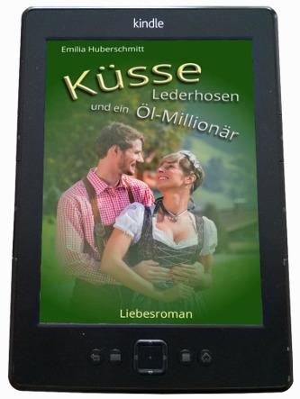 Heimatroman Buch Cover Küsse E-Book