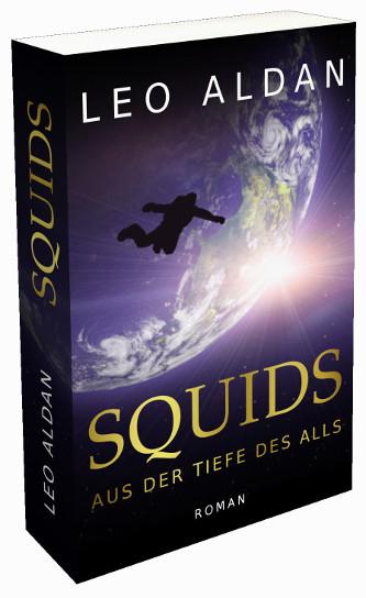 Buch Cover Squids 3D
